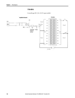 1756ib16, Controllogix dc (10 v) input module | Rockwell