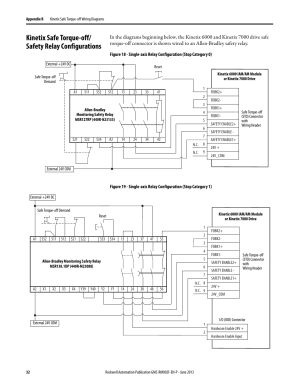 Rockwell Automation 2099BMxxS Kiix Safe Torqueoff Feature Safety Reference Manual User