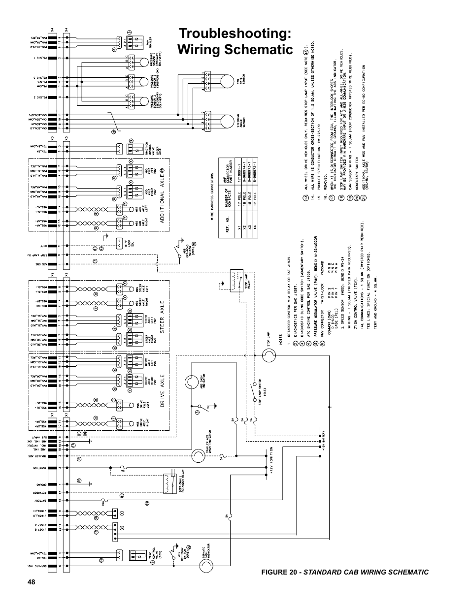 Troubleshooting Wiring Schematic