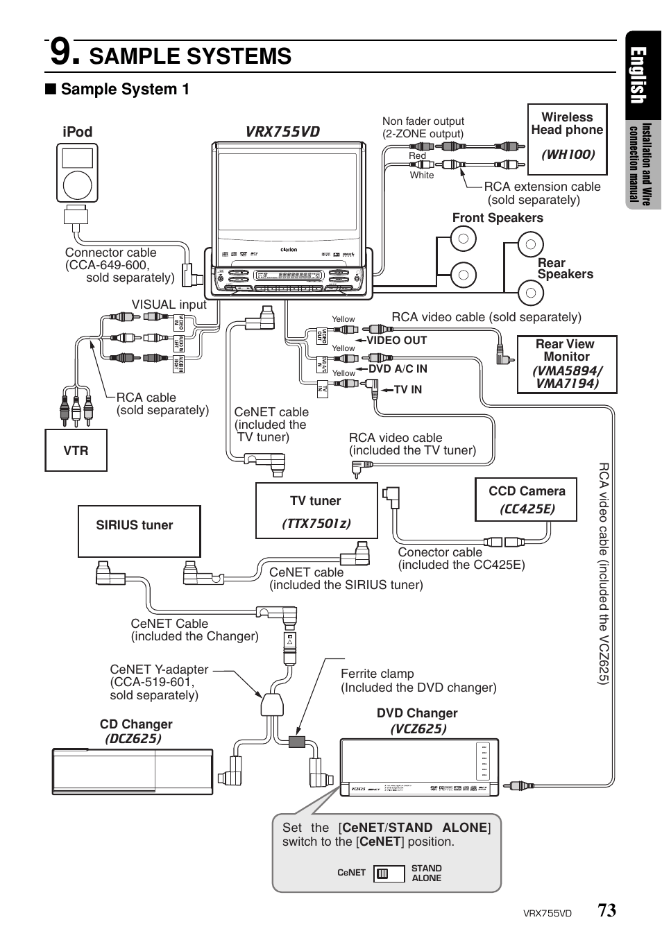 Clarion Xmd3 Wiring Diagram Diagrams Schematics Flowchart Software Visio Complete Circuit On Marine Radio Manuals Cmd5 For Excellent Aux