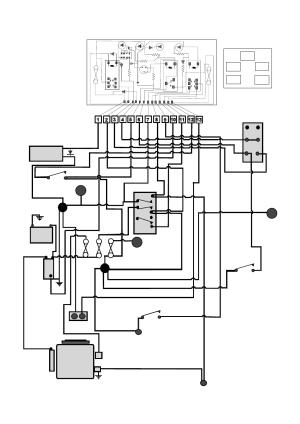 Tractor wiring diagram   Countax Garden Tractor User