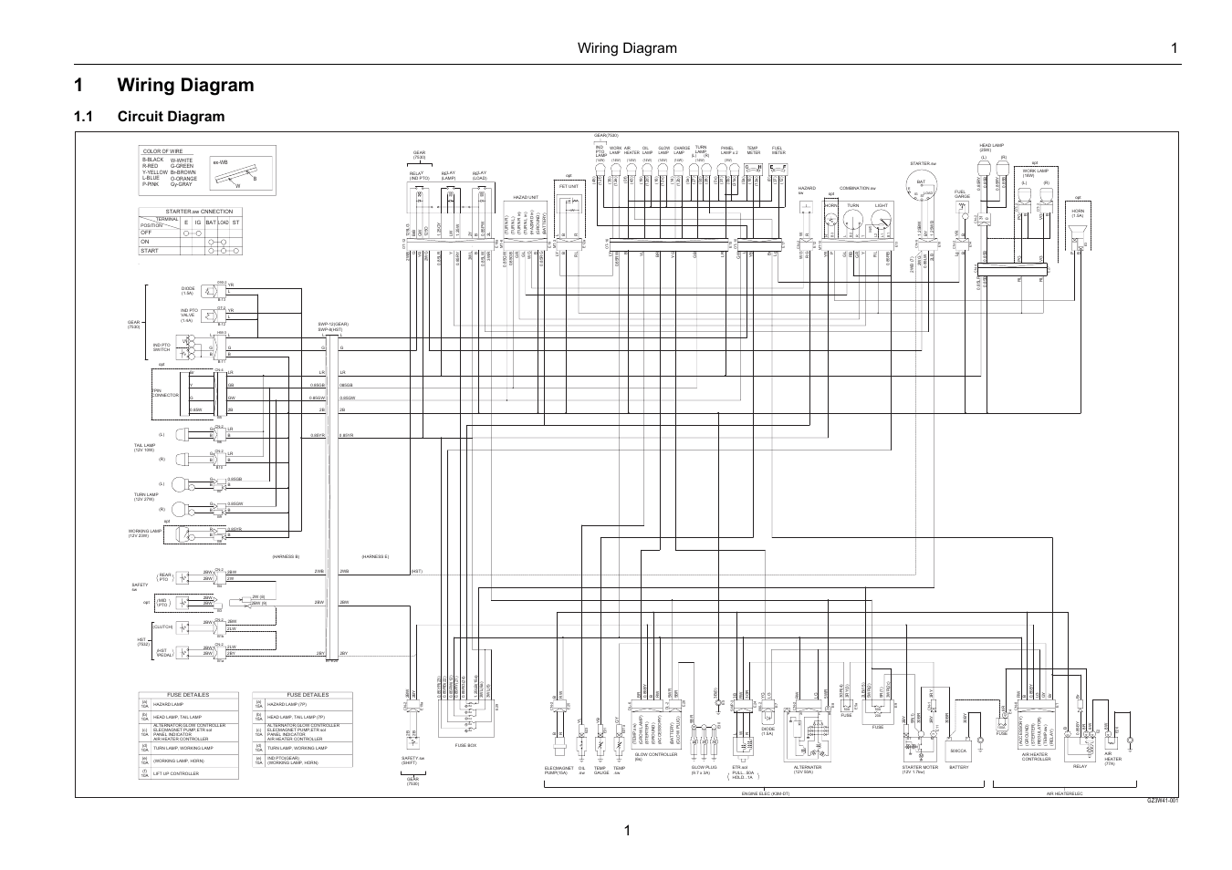 1wiring Diagram Wiring Diagram 1 1 1 Circuit Diagram