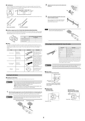 Installing sjha series, Wiring diagram (sjc2uc5uc10u