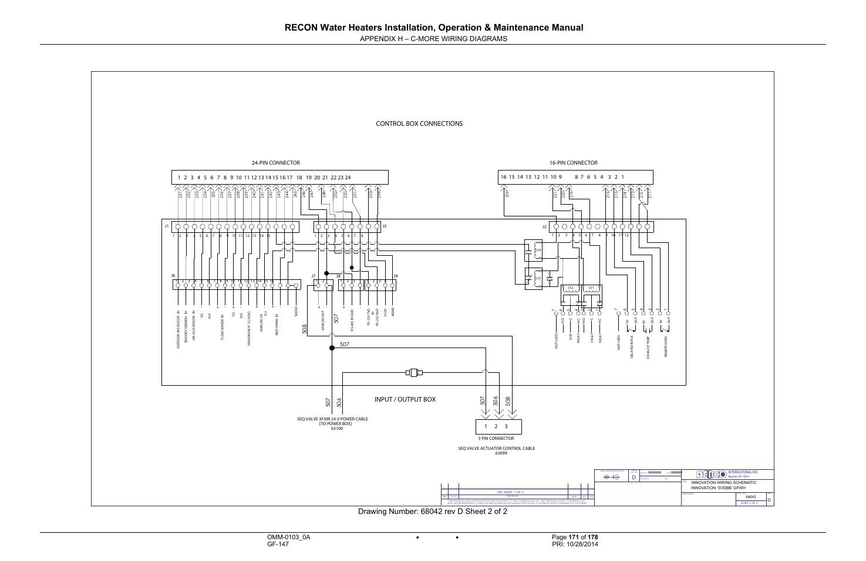 Appendix H C More Wiring Diagrams Control Box
