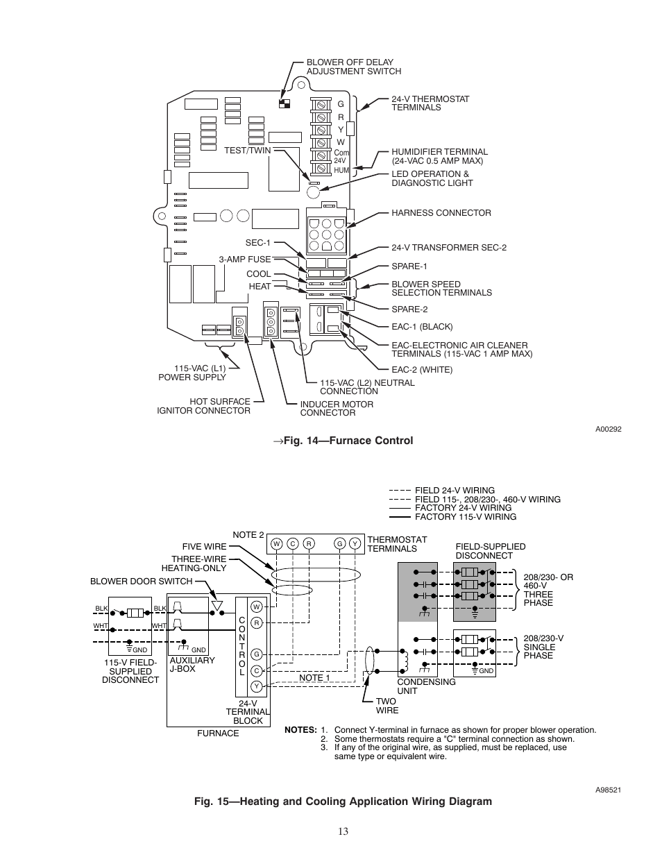 carrier weathermaker 8000 58zav page13?resize\\\\\\\=665%2C861 intertherm electric furnace wiring diagram & intertherm electric general electric furnace wiring diagram at panicattacktreatment.co
