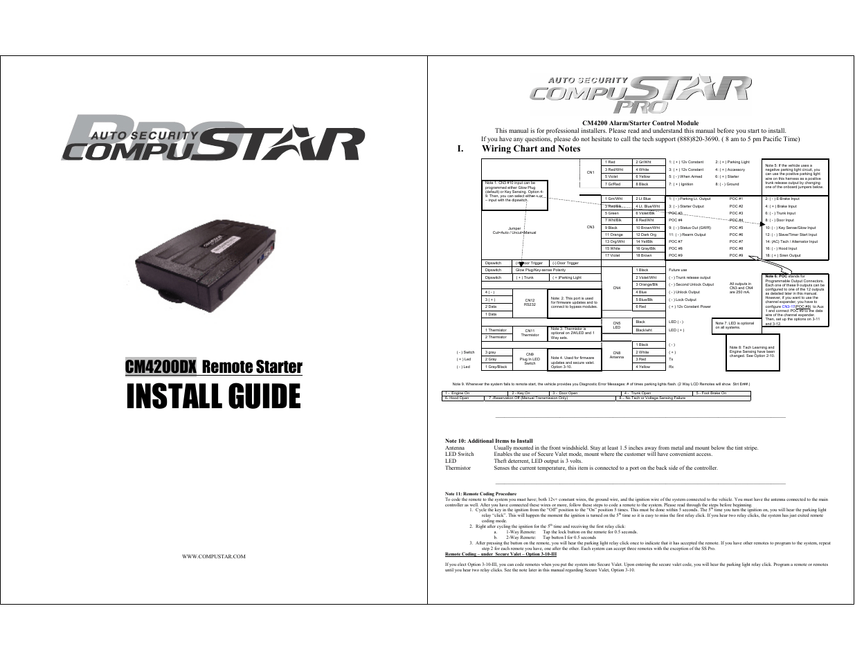 Compustar Cm Dx User Manual