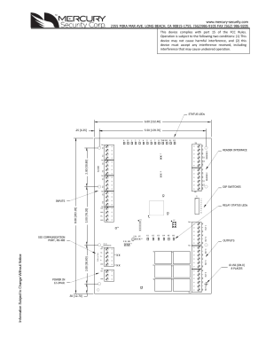 Keri Systems MR52 User Manual | 7 pages