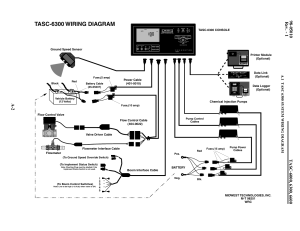 Tasc6300 wiring diagram | TeeJet TASC6600 User Manual
