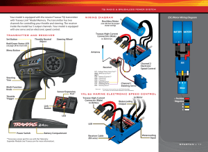 Wiring diagram, Vxl6s marine electronic speed control | Traxxas 5709L User Manual | Page 11  30