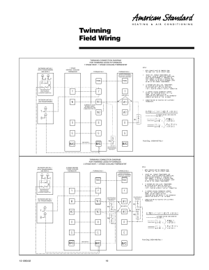 Twinning field wiring | American Standard Freedom 80 User Manual | Page 19  24