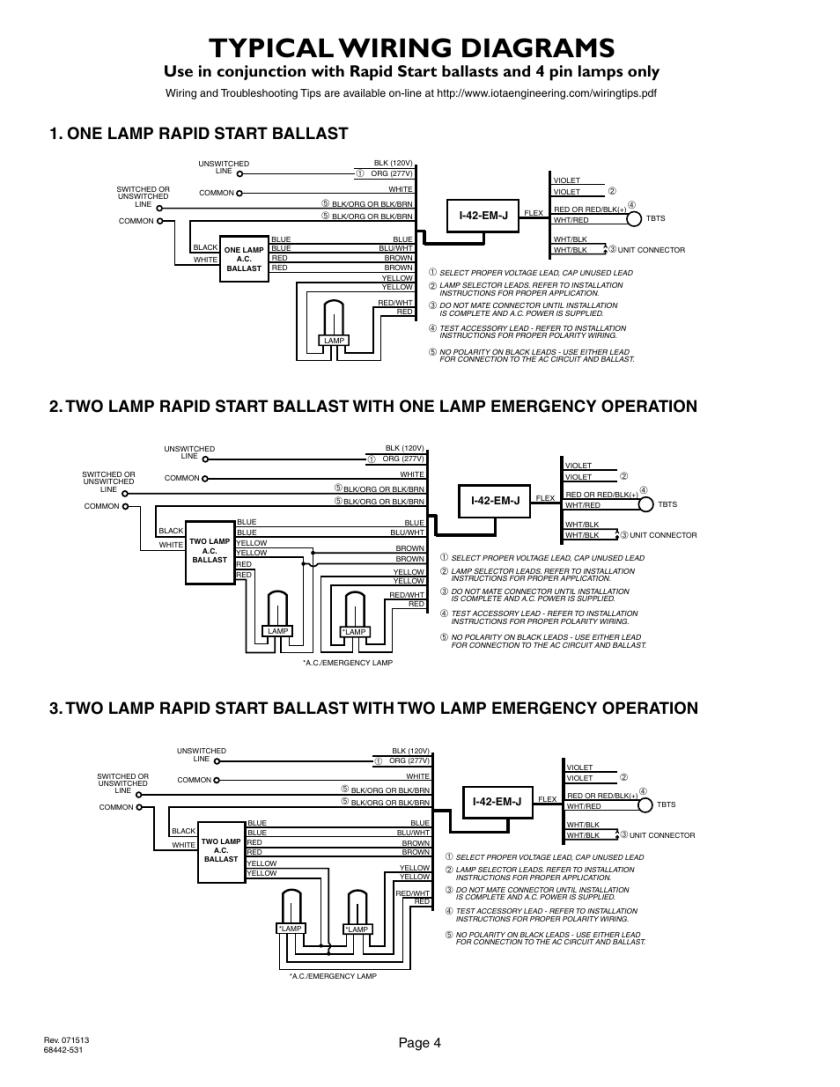 Perfect Lithonia Emergency Ballast Wiring Diagram Adornment ...