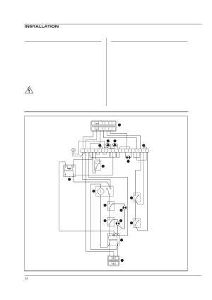 Electrical connections, Wiring diagram, Installation | Heatmaster 100 N User Manual | Page 13  30
