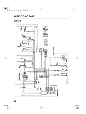 Wiring diagram, Eb3800x, 52 wiring diagram | HONDA EB5000X