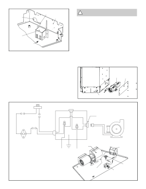Figure 10 fan wiring diagram, Warning: must use the cord