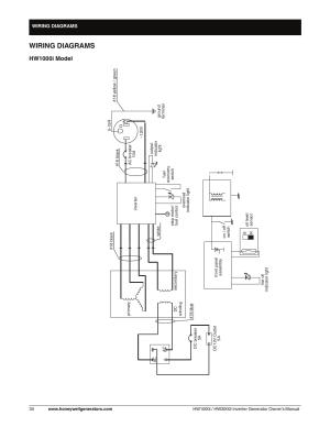 Wiring diagram  hw1000i model, Wiring diagrams, Hw1000i model | Honeywell HW2000i User Manual