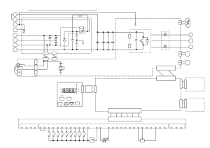 Sj300150220lfl300p185300lf circuit diagram | Hitachi SJ300 User Manual | Page 43  76