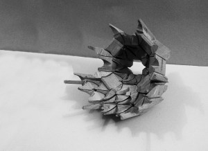 Manu Barba | Arquitectura. Modelo mocárabes madera pequeño.