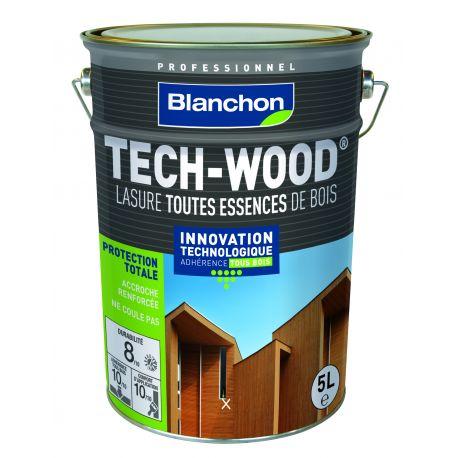 lasure tech wood chene dore 5l blanchon manubricole