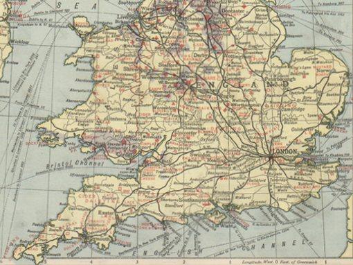 United Kingdom Map - Manuche