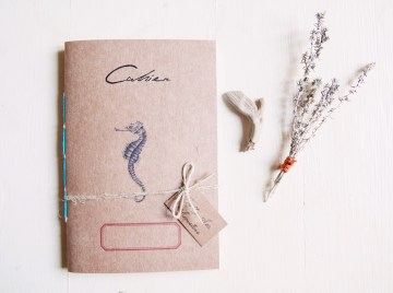 Cavalluccio marino notebook - Pretty sea monsters
