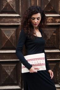 Manuche Spiga Canvas Bag