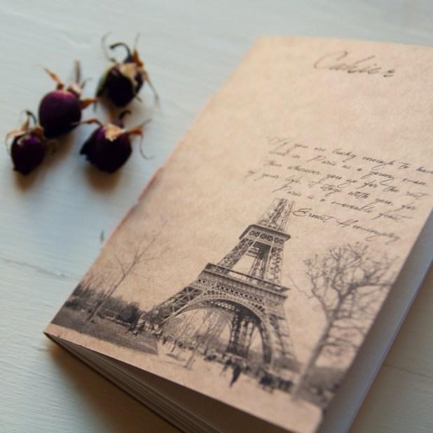 Manuche Postcards from - Cahier Paris