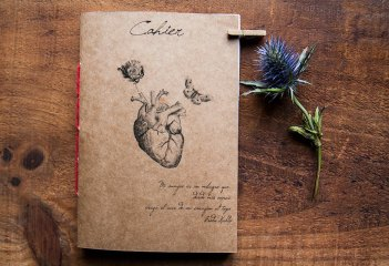 Amor notebook - Inspired by Frida Kahlo
