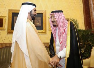 Saudi King receives Mohammed bin Rashid