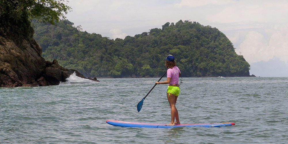 Paddle Board Manuel Antonio Coast