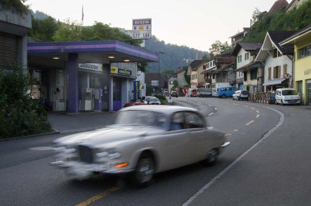Oldtimer Tankstelle Thun