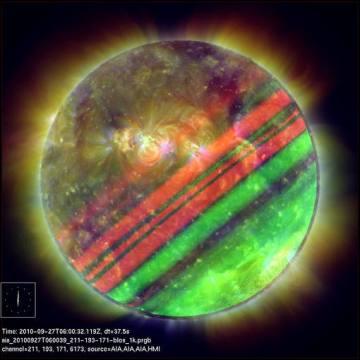 Sol-Júpiter, en Las fotografías más bellas del universo de RTVE.es