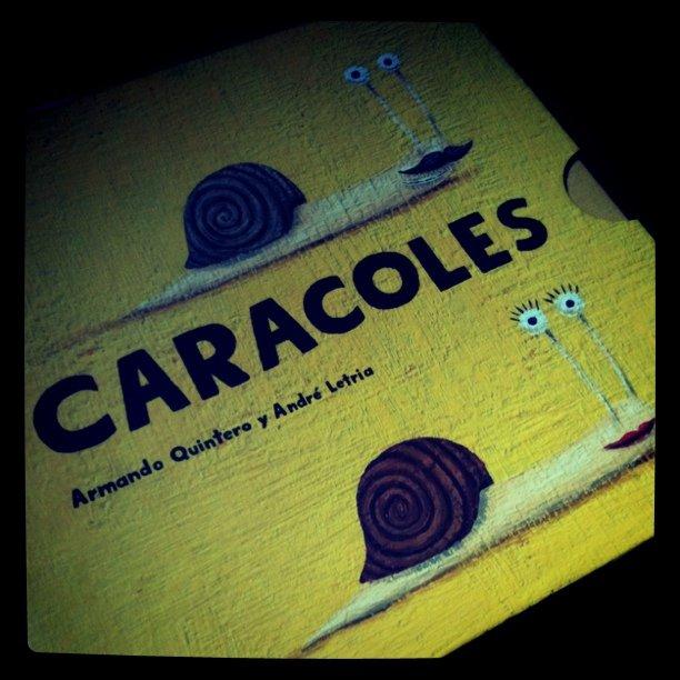 Caracoles, de Armando Quintero y André Letria, editados por OQO