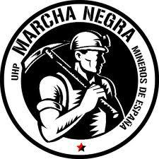 Marcha negra 2012 mineros de España