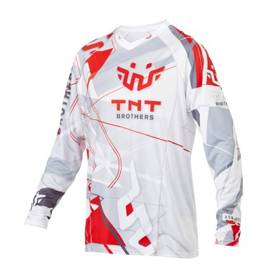 Custom skydiving Jersey in White