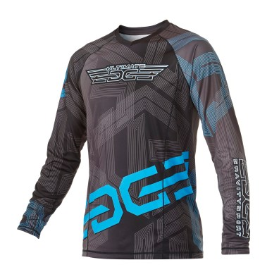Custom skydiving Jersey in Black