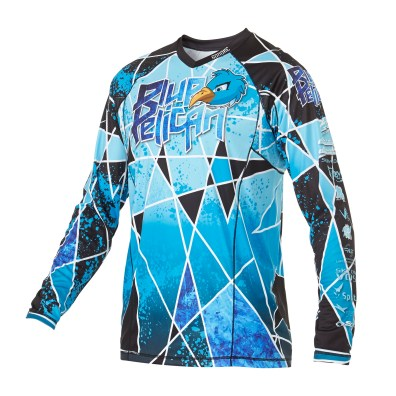 Custom skydiving Jersey in Blue