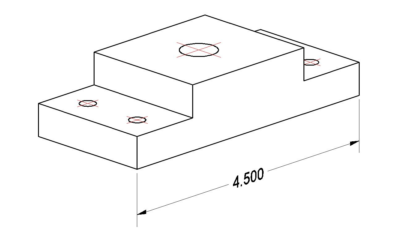 Orthographic Projection Bearing Plate Manufacturinget