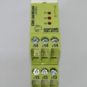 Relé COMAT C301.04/24VDC