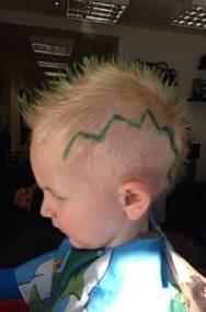 Child Dino Cut