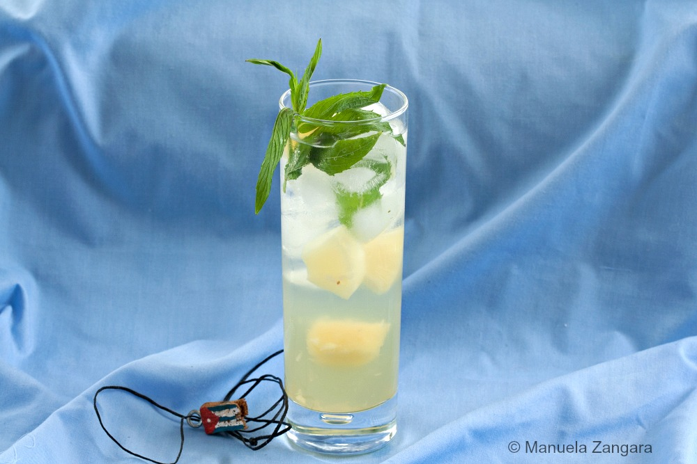 Pineapple mojito on Manu's Menu