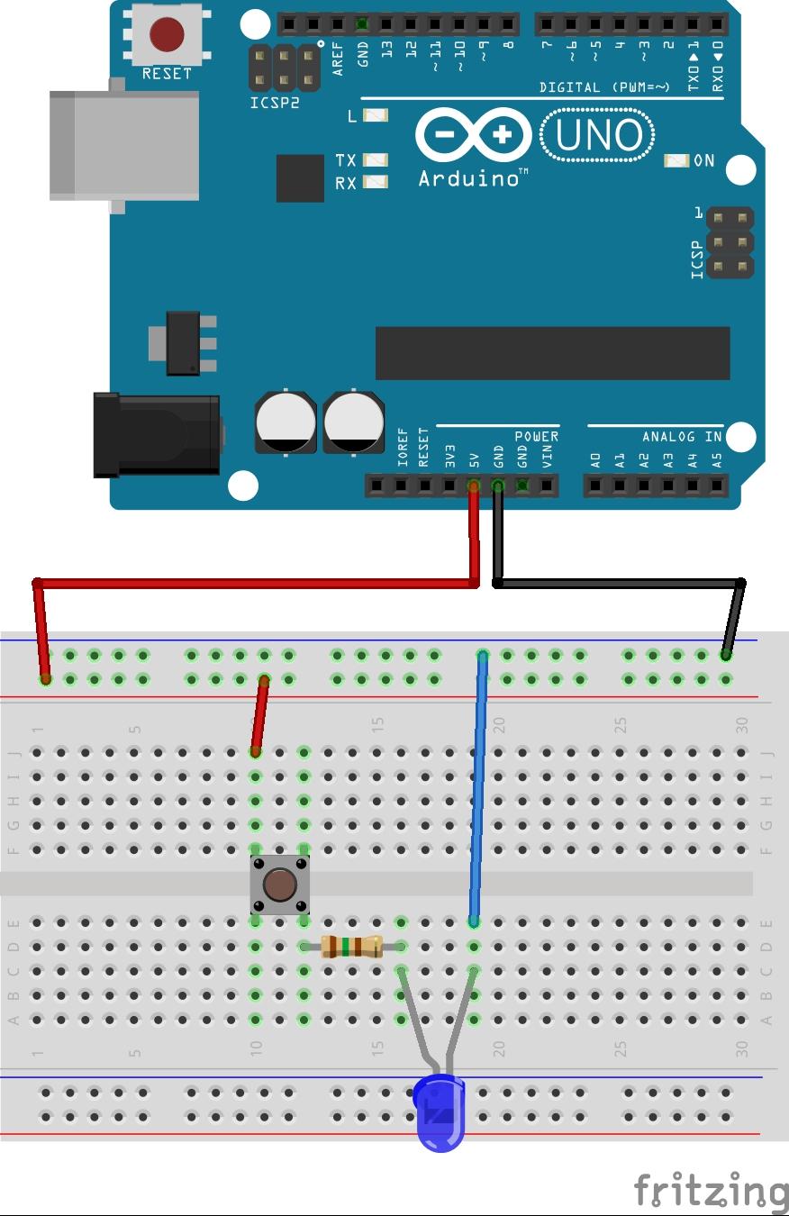 Circuito Arduino : Iniciación a arduino entradas digitales u botones manusoft