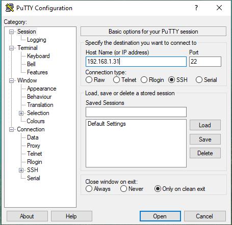 Instalar Raspbian sin pantalla por SSH
