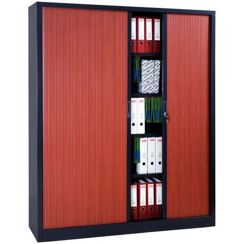 armoire a rideaux extra large en kit largeur 180 cm