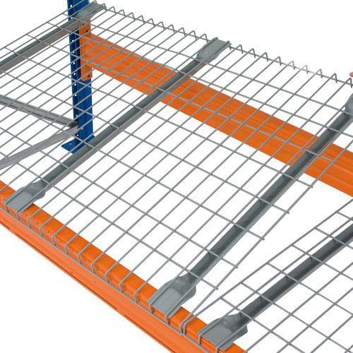 wire mesh decking shelving racking manutan uk