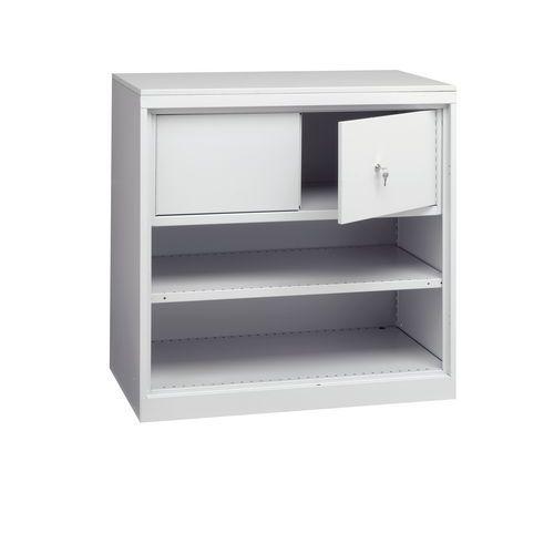 armoire d atelier a compartiment de rangement manutan fr