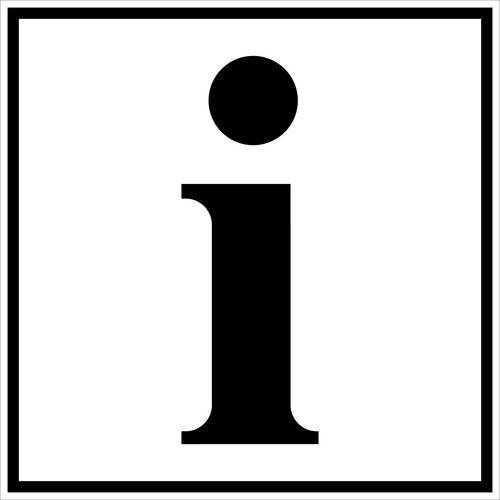 pictogramme de signalisation noir et blanc adhesif information manutan fr