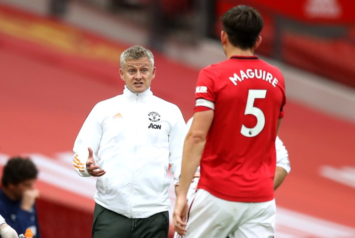 Harry Maguire, Ole Gunnar Solskjær, Manchester United