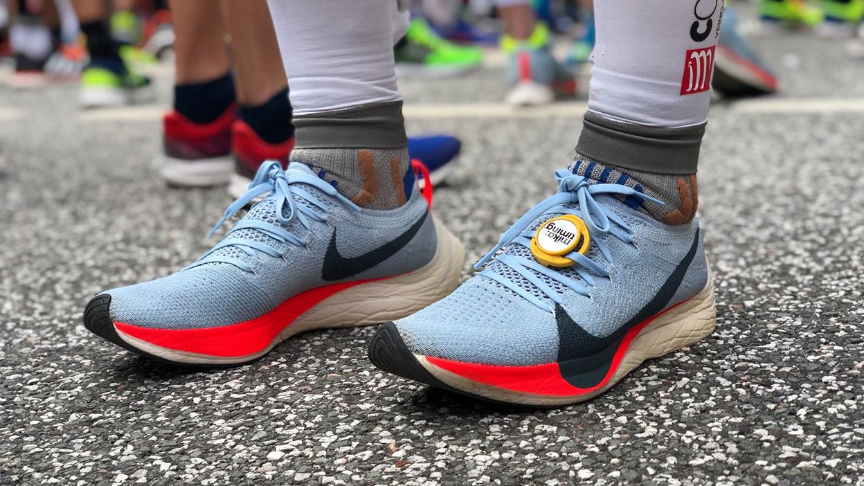 What\u0027s it like to run a marathon in Kipchoge\u0027s shoes?