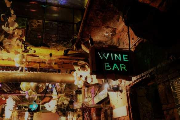 Szimpla kert wine sign