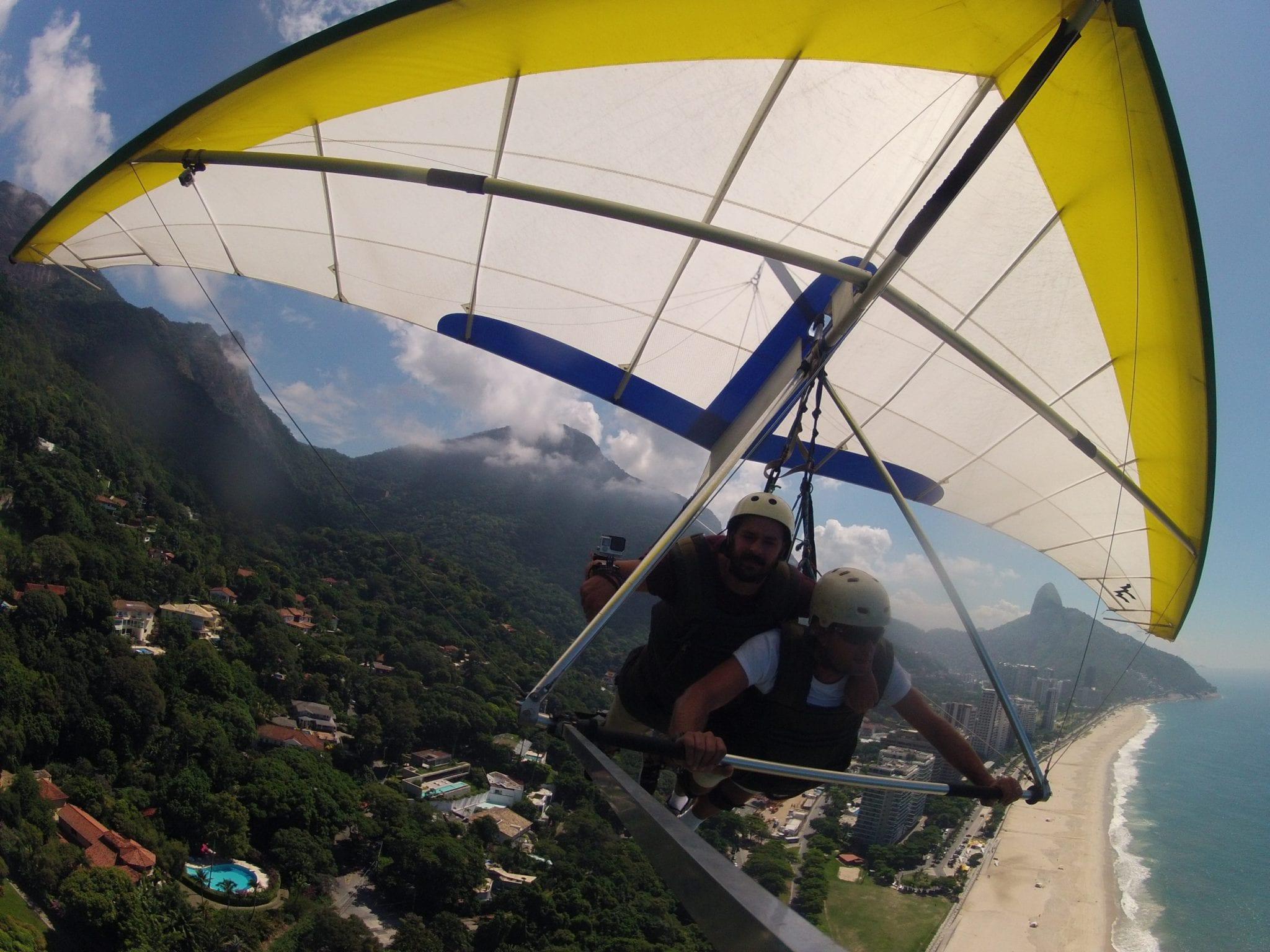 Hang Gliding Over Rio De Janeiro | Man Vs Globe
